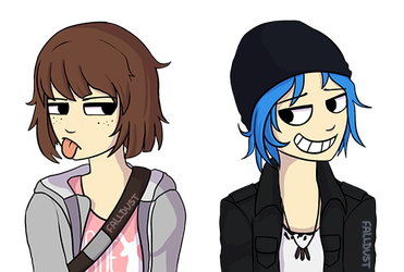 max and chloe by Falldust