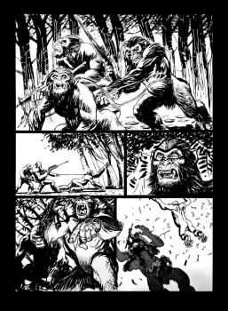 Planet of Apes by draldede