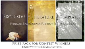 Exclusive Literature Templates by lindowyn-stock