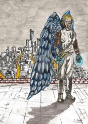 Archangel City (without rain) by lolitaparekh