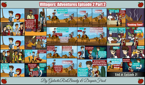 The Villagers' Adventures Ep. 2 (Part 2) by Galactic-Red-Beauty