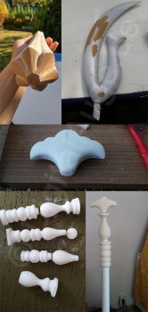 Sailor Moon - Sailor Saturn Silence Glaive Prop #6 by digitalAuge