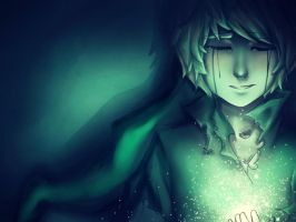 Ben Drowned - Brightness by Cross-Hatch001