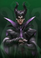 Maleficent male version by WolfMagnum