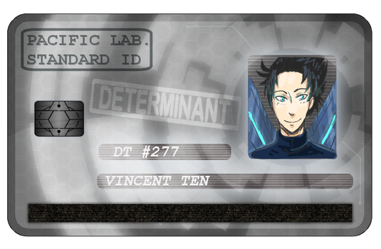 CV : Vincent Ten ID card by KunoichiRaiu