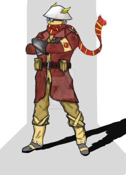 Jay Garrick flash reimagined as a WWI pilot by SonicPotato