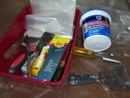 Tools for Spackling by caspercrafts