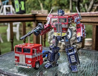 My 2016 MP10 Custom with Jadatoys truck by xeltecon
