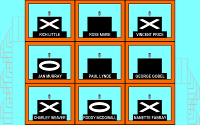 Hollywood Squares set by mrentertainment