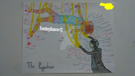 The Puppeteer Fan art (Old Homework) by TomboyDancer12