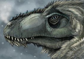 From the North came the Furry Tyrannosaurs by Eurwentala