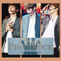 Photopack Chen- Exo 008 by DiamondPhotopacks