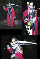 Auron cosplay by MissRaptor