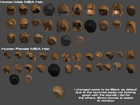 MEA Hairs XPS by Padme4000