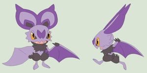 Pokemon Base 181~Noibat 2~