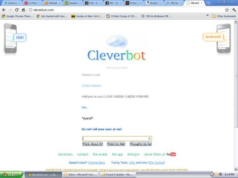 Clever bot- Cheese Edition! by ScarlettaRose1
