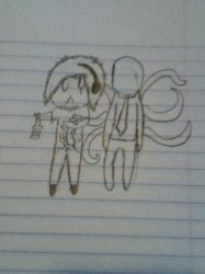 Pewds And Slendy by Lolzkitty132