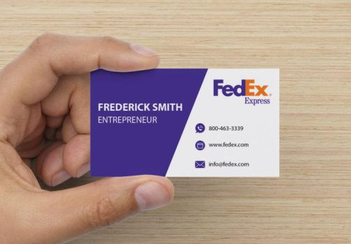 Fedex Business Card Mockup Design by IanMaiguaPictures