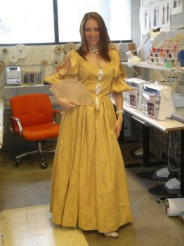 Costume Class Gown by tacostock