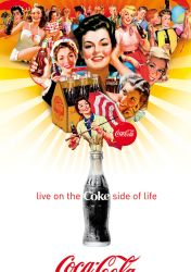 Girls on the Coke Side of Life by Coca-Cola-ArtGallery