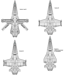 Norcal/K'mahda F-3 Family  Of Fighters by wbyrd