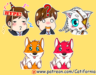 Very cute Emotes (June 21st Edition) by Catifornia