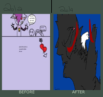 So much improvement! by amywolf45