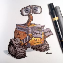 WALL-E by D-MAC