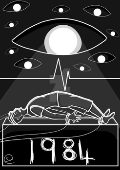 Big Brother is Watching You... - 1984 Fanart