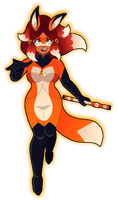 Rena Rouge by cartoonist66