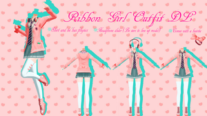 Ribbon Girl Outfit Dl by Kieusero