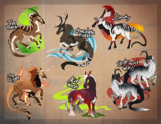 -Selvageist Flat-Sale Adoptables [closed]- by catarazzo