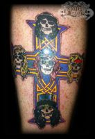 Guns n roses by state-of-art-tattoo