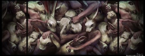 Meaningless scramble for ... by Ryohei-Hase