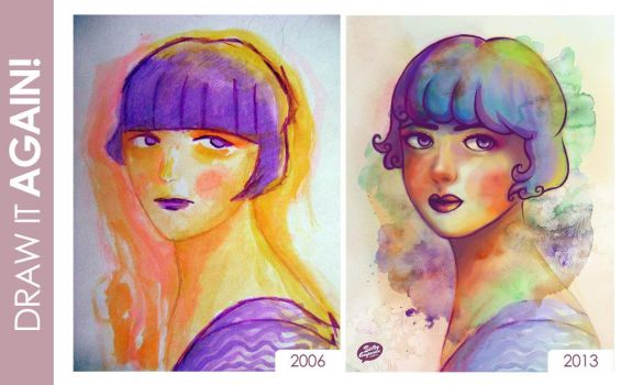 Draw it again (2006 - 2013) by betsyamparan