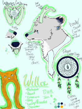 Willow Ref by SerenityTheDreamer