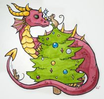 Christmas Card 2012 by owlburrow