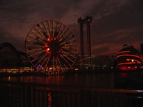 Night at California Adventure by chreana