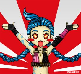 Chibi Jinx - Ranked Time by Anpekora