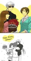 MM : HBD Jaehee!! by Pinkalala