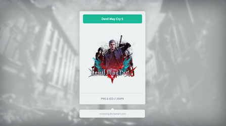 Devil May Cry 5 - Icon by Crussong