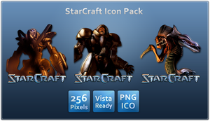 Starcraft Icon Pack by SkullBoarder