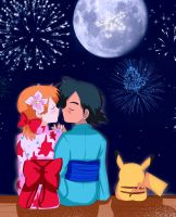 Pokeshipping romantic (? by StarMVenus