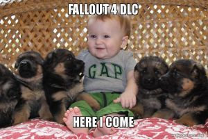 Fallout fans in a nutshell (With Puppy dogmeat!) by pee4u