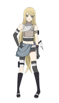 Miuu for Naruto OC Collab by AkaiBlood