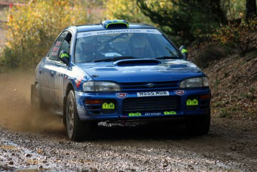 Impreza @ the Tempest Rally 2013 by adam-mccartney