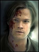 Sam Winchester by Petite-Madame