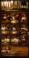 Beautiful Rooms Backgrounds by moonchild-ljilja