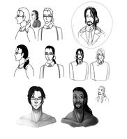 glasses man concept 2 by Random-Artist-1