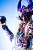 League of Legends - Syndra by KiraHokuten